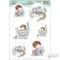 **Toppers a la Hobby House - Wee stamps - It´s a Boy