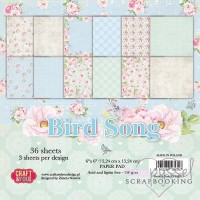 *Craft and you - Bird Song - 36 sheets