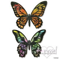 Sizzix - Dies - Detailed butterflies, mini
