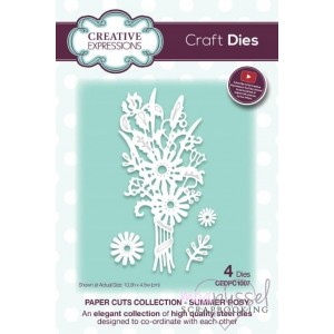 Dies - Creative Expressions - Paper cuts collection - summer posy
