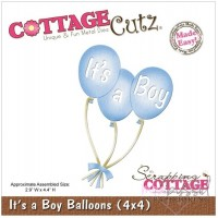 Dies - Cottage Cutz - It´s a Boy Balloons