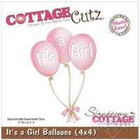 Dies - Cottage Cutz - It´s a Girl Balloons