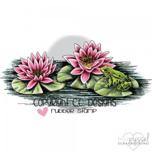 C.C Designs - stämpel - Lily Pad - JD1092
