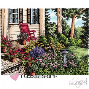 C.C Designs - stämpel - Back Porch - JD1089