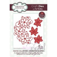 Dies - Sue Wilson - Creative Expressions - Poinsettia Cluster
