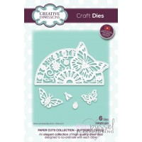 Dies - Creative Expressions - Butterfly Circle