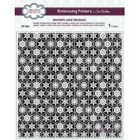 Creative Expressions - Embossing Folder - Snowflake Mosaic