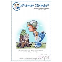 Whimsy stamps - Chrissy Armstrong - Frog Friend