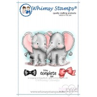 Whimsy stamps - Chrissy Armstrong - Jumbo Love and accessories