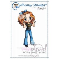Whimsy stamps - Art by Mi Ran - Number One
