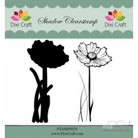 Dixi Craft - Shadow Clearstamp STAMP0076