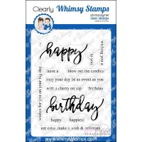 Whimsy stamps - Sweetest Birthday