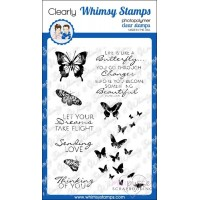 Whimsy stamps - Flight of the butterflies