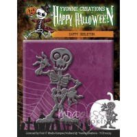 Yvonne Creations - Happy Halloween - Happy Skeleton