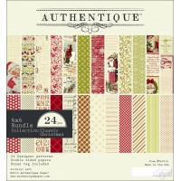 Authentique - Classic Christmas - 6 x 6