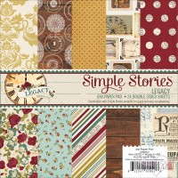 Simple Stories - Legacy - 6 x 6 Paper pad