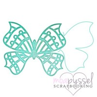 Dies - Cheery Lynn Design - Whimsical Butterfly and Angel Wing B535
