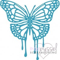 Dies - Cheery Lynn Design - Dripping Butterfly DL266