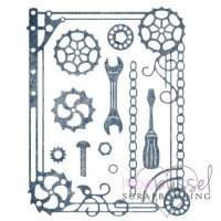 Dies - Cheery Lynn Design - Frame Mechanical CAFR-18
