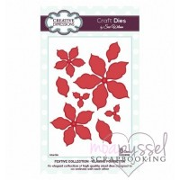 Dies - Sue Wilson - Festive Collection - Classic Poinsettia