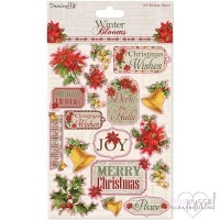 Stickers - Winter Blooms - A5 sticker sheet