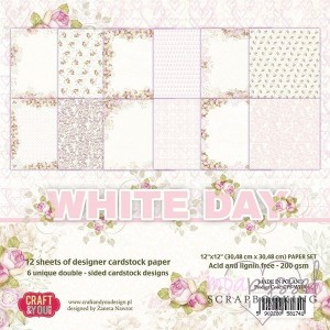 *Craft and you - White Day - 36 sheets