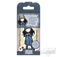 Gorjuss Girls - Mini stamps - No 28 Toadstool