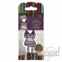 Gorjuss Girls - Mini stamps - No 32 Little Violet