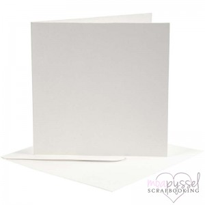 Card base and envelope-off-white