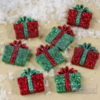 Dress it up - Holiday Collection - Small Glitter Presents