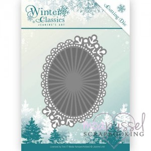 Jeanine´s Art - Winter Oval