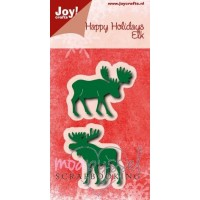 Dies - Joy - Happy Holidays - Elk - 6002/0778