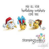 Stamping Bella - Santa Chick and his helpers - eb431