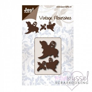 Dies - Vintage Flourishes - Ghosts - spöken - 6003/0087