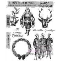 Stampers Anonymous - Tim Holtz Collection - Yuletide