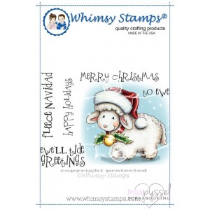 Whimsy stamps - Chrissy Armstrong - Fleece Navidad
