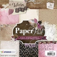 *Studio Light - paper pad - Winter days PPWD100