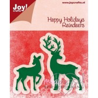 Dies - Joy - Happy Holidays - Reindeers 6002/2029