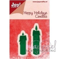 Dies - Joy - Happy Holidays Candles - 6002/2031