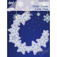 Dies - Joy - Winter Wishes - Circle Stars 6002/2042