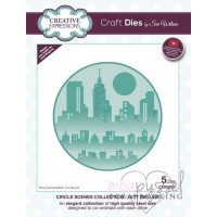 Dies - Sue Wilson - Circle scen collection - City skyline CED26001