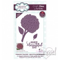 Dies - Sue Wilson - Finishing Touches - Beautiful Hydrangea CED1512