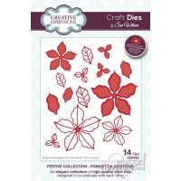 Dies - Sue Wilson - Festive Collection - Poinsettia additions CED3051