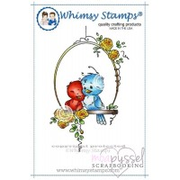 Wee stamps - Bird Swing