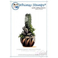 Whimsy stamps - Tall Cactus