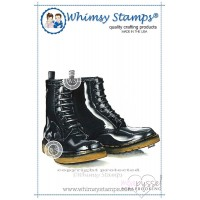 Whimsy stamps - Boots - DA1054