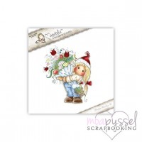 Magnolia Stamps - Tilda with a big Bouquet
