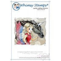 Whimsy stamps - Fairy and Unicorn Friends