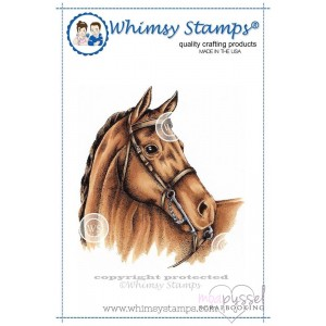 Whimsy stamps - Horse Head