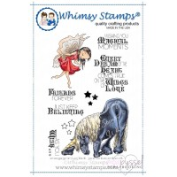 Whimsy stamps - Fairy and Unicorn Greatings